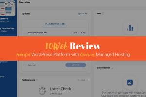 10Web Review: WordPress Platform + Managed WordPress Google Cloud Hosting