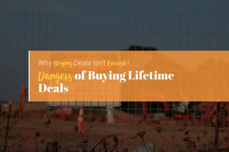 dangers of buying lifetime deals from AppSumo, Saas Mantra, PitchGround and Rebeliance