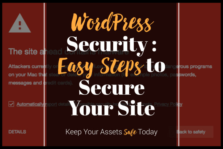 wordpress security tips and guide